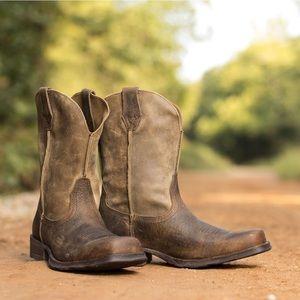 Ariat Mens Rambler Western Boot Earth 5